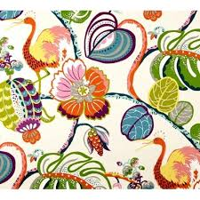Waverly Home Decor Fabric Tropical Fete Basketweave Home Decor Fabric By Waverly Fabric