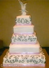 cake monograms cake wrecks home seven hilariously wrong wedding cake monograms