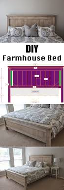 Farmhouse Bed Frame Plans 25 Easy Diy Bed Frame Projects To Upgrade Your Bedroom Homelovr