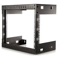 8u wall mount cabinet startech 8u open frame wall mount equipment rack 12 amazon co uk