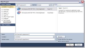 asp net mvc 2 web application project template for vs 2008 2010