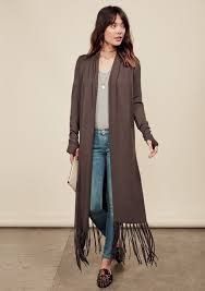 Sweater With Thumb Holes Cardigan Duster Open Cardigan Long Cardigan Thumb Holes