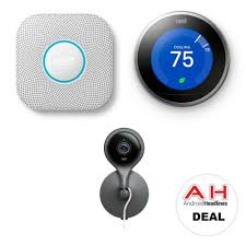 amazon black friday nest thermostat deal 50 off the nest protect nest cam indoor u0026 thermostat 11