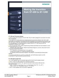 simatic s7 200 to s7 1200 transition manual telecommunications