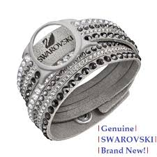 crystal bracelet swarovski images Swarovski slake deluxe activity crystal bracelet carrier 5225816 jpg