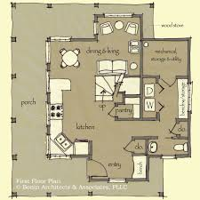 energy efficient homes plans cabin plans energy efficient plan rustic floor western mountain