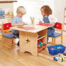 Play Table With Storage And Chairs Star Storage Table U0026 Chair Set Gltc