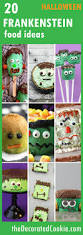 20 frankenstein food ideas for halloween the decorated cookie