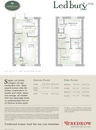 redrow oxford floor plan 2 bedroom terraced house for sale in offenham road wr11 wr11