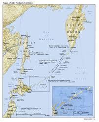 Map Of Aleutian Islands Northern Territories Kuril Islands