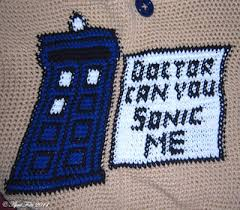 ravelry doctor who crochet bag pattern by april draven