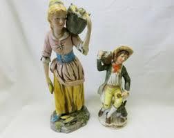 home interior porcelain figurines homco figurines etsy