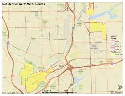 Flint Michigan Map by Water Meter Replacement Program Begins U2013 City Of Flint