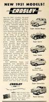 crosley car 1950 ad crosley car station wagon coupe automobile cincinnati ohio