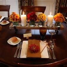 home decor 15 stylish thanksgiving table settings entertaining