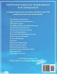 Depression Worksheets Cbt Worksheets For Depression A Photocopiable Cbt Programme For
