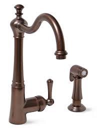 brushed bronze kitchen faucets premier 120026lf sonoma lead free single handle kitchen faucet