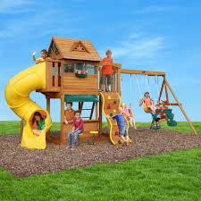big backyard summerville cedar play set f23105 boutiqify