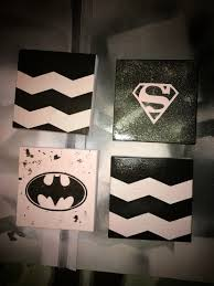 Superman Bedroom Decor by Batman U0026 Superman Decor My Diy Projects 2016 Pinterest