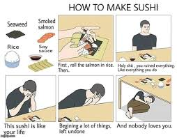 How To Do Memes - how to make sushi memes imgflip