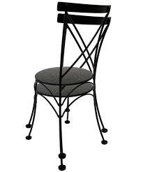 Wrought Iron Bistro Chairs French Style Wrought Iron Cafe Bistro Chair