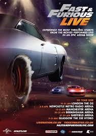 vin diesel u0027s fast and furious live arena tour is revving its