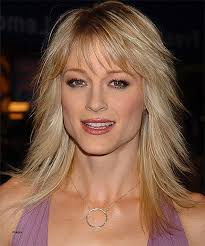 medium length hair medium hairstyles for thin hair round face
