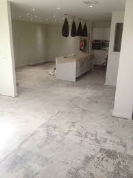 Remove Floor Tiles From Concrete Dust Free Tile Removal All Stripped