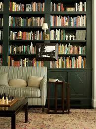 Green Bookcase Green Bookcase Houzz