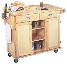 kitchen islands carts wood finish kitchen island cart with locking casters
