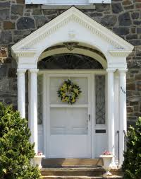 Exterior Door Pediment And Pilasters by Eave Returns Interpreting Gyhr Details Thisiscarpentry