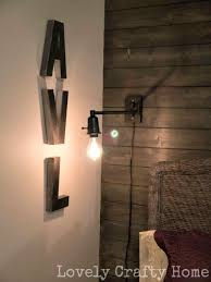 Edison Bulb Wall Sconce Home Diy Exposed Edison Bulb Sconce Cotcozy