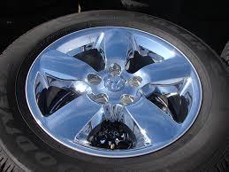 dodge ram 1500 wheels and tires amazon com set of four 2013 dodge ram 1500 chrome wheels with