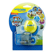 night light that projects on ceiling bnip nickelodeon paw patrol projectables 6 image led night light