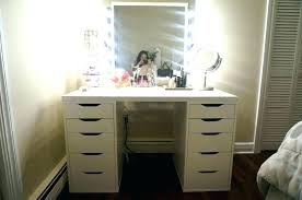 make up dressers diy vanity mirror with lights easy makeup dresser and alluring