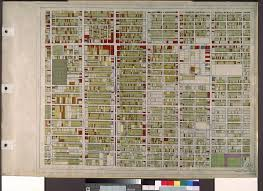 Map Of Downtown Los Angeles File Wpa Land Use Survey Map For The City Of Los Angeles Book 8