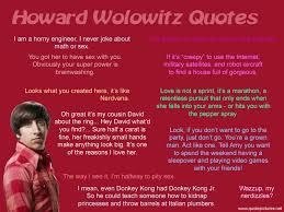 Howard Wolowitz Meme - 133 big bang quotes by quotesurf