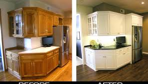 staining kitchen cabinets before and after restaining kitchen cabinets s oak before and after how to restain
