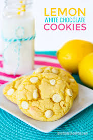 lemon cookies love from the oven