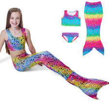 Ariel Mermaid Halloween Costume Mermaid Tail Picture Detailed Picture Rainbow