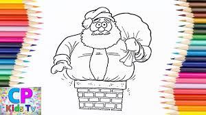 santa claus coloring pages kids 2 color santa claus