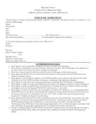 purchase and sales agreement car free consulting proposal template