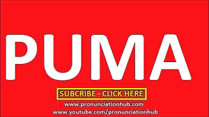 how to pronounce puma youtube