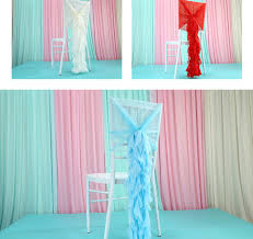 new year sash outdoor diy wedding decoration wedding bamboo chair covers new
