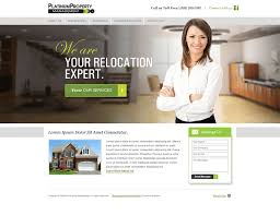 premier property management website design
