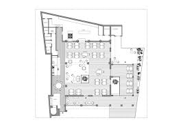 resturant floor plan gallery of kook restaurant noses architects 16