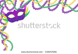 mardi gras picture frame mardi gras colored frame mask stock vector 539257666
