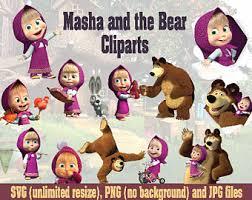 masha bear etsy