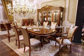 Baroque Dining Table 0062 Baroque Italian Design Wooden Table And Chairs Antique