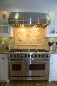 kitchen range backsplash white cabinets backsplash ideas pictures of kitchens